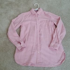 Old Navy Tunic Button Up Shirt
